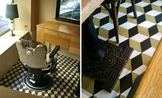 Interesting proposal with #hydraulic #tiles. baldosas hidráulicas