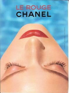 Chanel Le Rouge advertisement