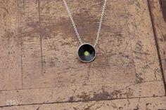 Halskette silber mit emaille SIMPLE 27 von MartaRudnicka auf DaWanda.com
