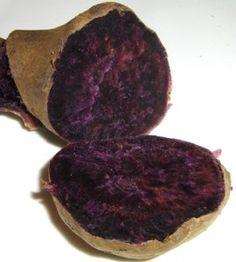 I want to grow a purple sweet potato!