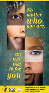 The HIV Screening. Standard Care. campaign encourages providers to screen all patients for HIV. Click here for campaign materials.