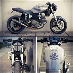 Skate Influenced Custom Ducati Monster 600 by RGK