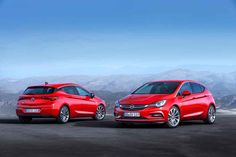 NEW Opel Astra K Facelift 2015
