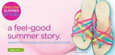 Crocs Coupon Code – FREE Shipping Thru 6-9