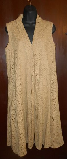 Jones New York Signature Beige Size 8 Shift Dress Pockets Lined #JonesNewYork #Shift #Casual