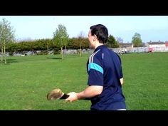 Dublin hurling star and Bord Gáis Energy Ambassador Liam Rushe shows some of the skills that he hope will see Dublin through the Bord Gáis Energy GAA Hu. Coaching, School, Youtube, Training, Schools