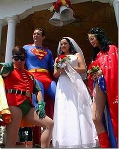 Les 10 Mariages les plus... Bizarroïdes !