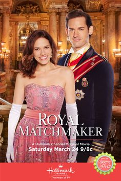 "Its a Wonderful Movie - Your Guide to Family and Christmas Movies on TV: Royal Matchmaker - a Hallmark Channel Original ""Spring Fever"" Movie"