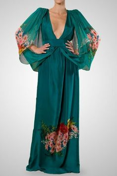 japanese style gown