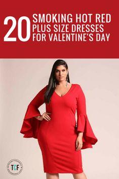 2cda2af5f6c 20 Smoking Hot Plus Size Dresses For Valentine s Day!