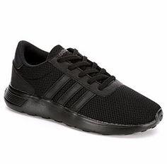 Adidas Lite Racer Boys' Sneaker (BLACK) | Off Broadway Shoes