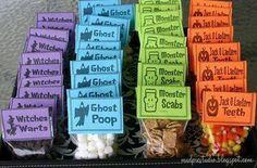 Halloween trest ideas