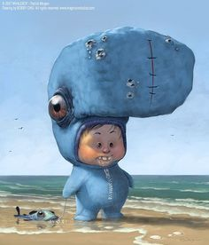 Cute Digital Illustrations by Bobby Chiu