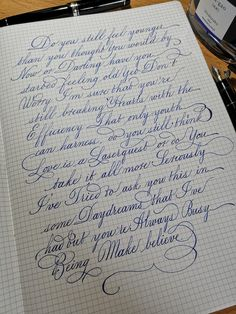 Calligraphy Letters Alphabet, Copperplate Calligraphy, How To Write Calligraphy, Calligraphy Handwriting, Penmanship, Handwriting Examples, Handwriting Styles, Nice Handwriting, Beautiful Handwriting