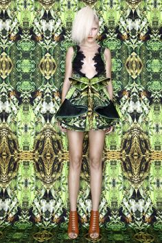 A lab Milano's Alessandro Biasi and Simona Costa's new S/S 2012 collection inspired by the Amazon.