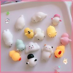 Kawaii japanese anit stress toy 23 pieces SD00686