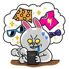Cony addicted to online shopping