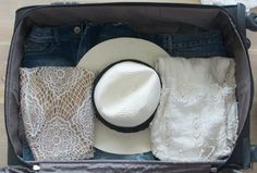 The Genius Way to Pack Your Hat in a Suitcase—Without Squishing it