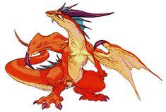 Dragon Metamorphosis from Breath of Fire III