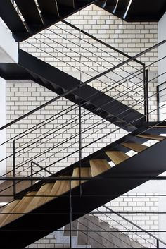 Vietnamese Town House - Picture gallery #architecture #interiordesign #staircase #black #wood