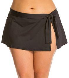 Women's Clothing, Swimsuits & Cover Ups, Bikinis, Bottoms, Women Bikini Bottoms Swim Skirt Slimming Chlorine Resistant Beachwear Swimdress - Black - Swim Skirt, Swim Dress, Bikini Outfits, Sexy Outfits, Bikini Bottoms, Women's Bottoms, 1920s Fashion Women, Swimsuit Cover Ups, Ladies Dress Design