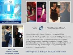65 pounds in only how long?!?!?! Go to www.haileyanderic.govisi.com