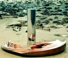 anamorphosis of the South African artist Jonty Hurwitz