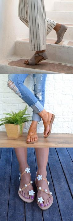 100+ Best Spring Summer Shoes for You.Up to 75% OFF! Buy More Save More!Shop Now! Mom Outfits, Stylish Outfits, Cute Outfits, Women's Shoes Sandals, Shoe Boots, Fashion Shoes, Fashion Outfits, Shoe Collection, Summer Shoes