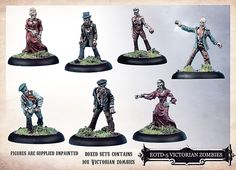 West Wind Productions: 28mm Victorian Zombies!