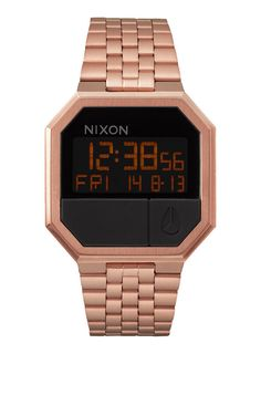 Reloj/Watch/Womens Nixon Re-Run All Rose Gold Skate Urban Street