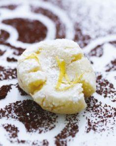 Citron marcipan med hvid chokolade