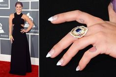 The Best Celebrity Nail Art - Grammy Awards 2013  Check out all the dazzling digits celebs rocked at the 2013 Grammy Awards