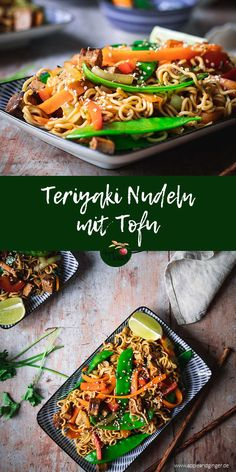 Veggie Recipes, Asian Recipes, Healthy Recipes, Happy Vegan, Vegan Dishes, Food Inspiration, Good Food, Healthy Eating, Lunch