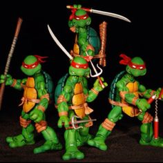 80's Ninja Turtles: My little brother had that. He played lot when he was young.