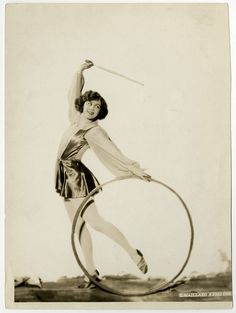 Art Deco Dancer & Hoop Ula Sharon 1926 Vintage G. Maillard Kesslere Photograph