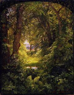 Woodland Landscape (also known as Woodland Glade)  William Trost Richards