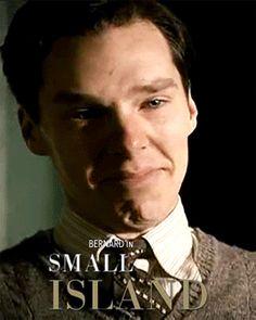 SMALL ISLAND (BBC, 2009) ~ TV movie. Benedict Cumberbatch. [GIF]