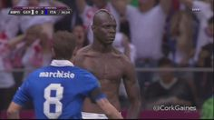 mario balotelli celebration: how to become hero in one night. A whole nation is talking about Mario Balotelli thanks to what he did to Germany thursday night.