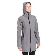 Hooded Soft Shell Jacket w/ Fleece Lining
