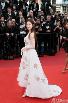 Liu Yi Fei red carpet at Cannes Film Festival 2016
