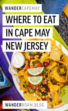 We spent a weekend in Cape May and made a list of all of our favorite places to eat! Cape May Restaurants, Travel Usa, Travel Tips, Travel Destinations, Spring Break Vacations, Us Road Trip, Best Places To Eat, Foodie Travel, New Jersey