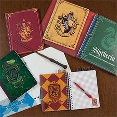Harry Potter College Ruled Notebook 4pk - Exclusive Additional Image