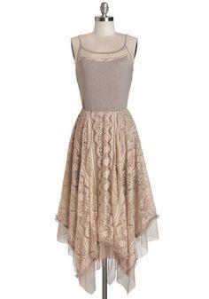 Ryu Long Time No Whimsy Dress   Mod Retro Vintage Dresses   ModCloth.com