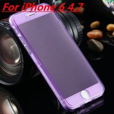 Ultra Thin Slim Clear Flip Case for Apple iPhone 6 / 6S / for iPhone 6 / 6S Plus