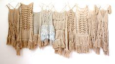 9 costumes for the Bangarra performance, The Australian Ballet. designer: Jenny Irwin
