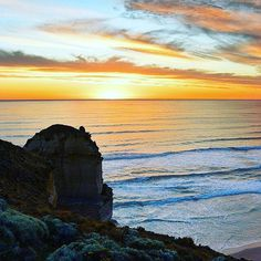 """Thanks: @australia - """"Here looks like a good spot to pull over!"""" - On @visitgreatoceanroad in #Victoria you're spoiled for choice when it comes to spots to take that Instagram-worthy shot - especially at sunset. The #GreatOceanRoad is renowned as one of Australia's most scenic coastal drives and will take 2-3 days to complete at a leisurely pace - starting at the surf capital of #Torquay via the iconic #12Apostles and ending at the historic fishing village of #PortFairy. Photo: @thisisyugen…"""