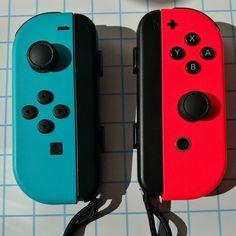 Agréablement surpris par la précision des Joy-Con de la #NintendoSwitch #Nintendo #Switch #JoyCon