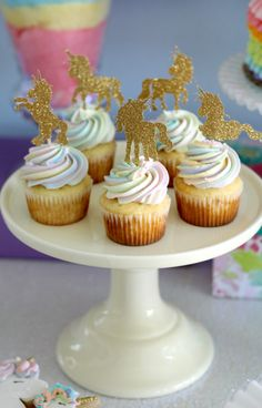 Unicorn cupcakes, fo