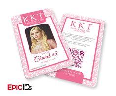 "Scream Queens Inspired ""Chanel #5"" Kappa Kappa Kappa Tau Sorority ID (Clean)"