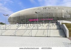 KRAKOW, POLAND - SEPTEMBER 12, 2016: The Tauron Arena,a multipurpose arena complex in Krakow, Poland.